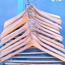 Vintage Wood Hangers Neiman Marcus Hangers Satin &ampamp Knitted Hangers Photo
