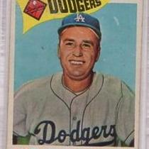 WALT ALSTON DODGERS MANAGER 1960 TOPPS #212 EX Photo