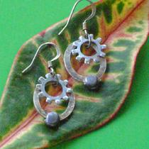 Washers and Weights Earrings Photo