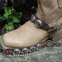 Western Boots Boot Chains (The Concho Honcho)brown Photo