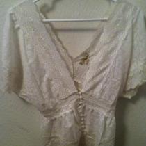 White twentyone lace blouse Photo