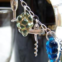Wine lovers&39 Bracelet in Sterling Silver Photo