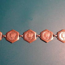 Winged Mercury Dime Bracelet Photo
