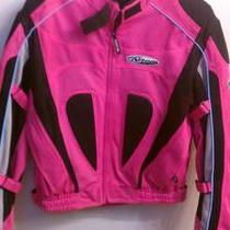 Womans Pink Nitro Motorcycle Jacket Photo