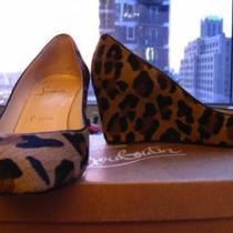 Women Cheetah Print  Christian Louboutin Wedges  Photo