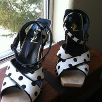 YSL Polka Dot Sandals Photo