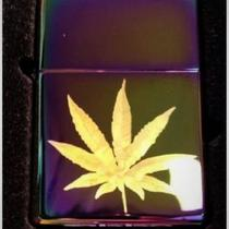 Zippo Custom Lighter Weed Pot leaf Photo