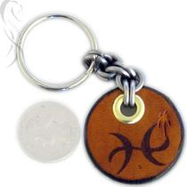 Zodiac Charm Key Fob - Pisces Photo