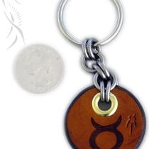 Zodiac Charm Key Fob - Taurus Photo